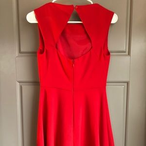 Red French Connection Dress size 4